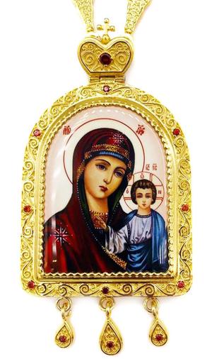 Bishop panagia Theotokos of Kazan - A1045b