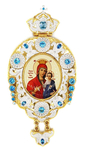 Bishop panagia Theotokos of Iveron - A1117
