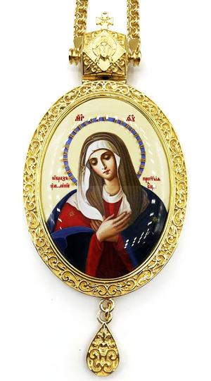 Bishop panagia Theotokos Eleusa - A1282