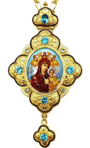 Bishop panagia Theotokos of Kazan - A1289