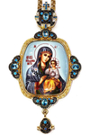 Bishop panagia Theotokos the Unfading Flower - A1292