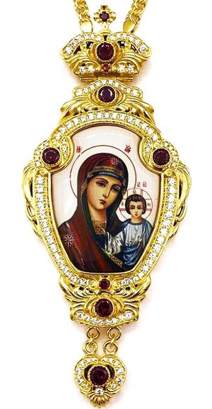 Bishop panagia Theotokos of Kazan - A1335