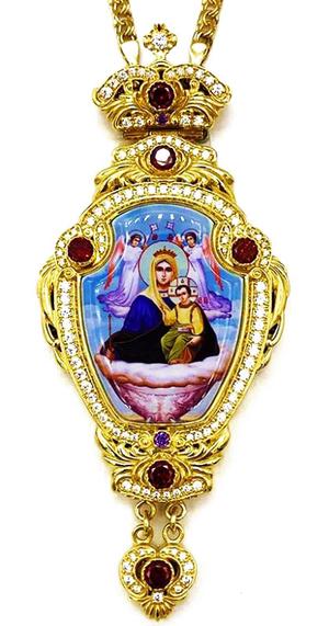 Bishop panagia Theotokos the Life Bearing Spring - A1335