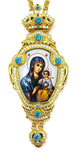 Bishop panagia Theotokos the Unfading Flower - A1335