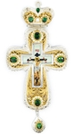 Pectoral cross with adornment - A256c
