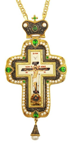 Pectoral cross with adornment - A278