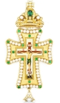 Pectoral cross with adornment - A283