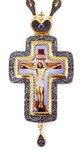 Pectoral cross with adornment - A284