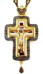 Pectoral cross with adornment - A284a