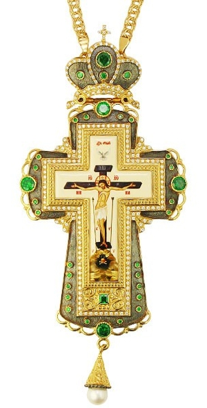 Pectoral cross with adornment - A287