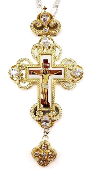Pectoral cross with adornment - A290c