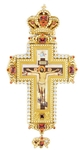 Pectoral cross with adornment - A309