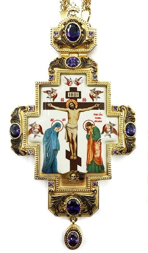 Pectoral cross with adornment - A321