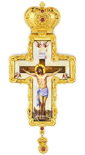 Pectoral cross with adornment - A325b