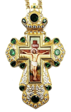 Pectoral cross with adornment - A326a