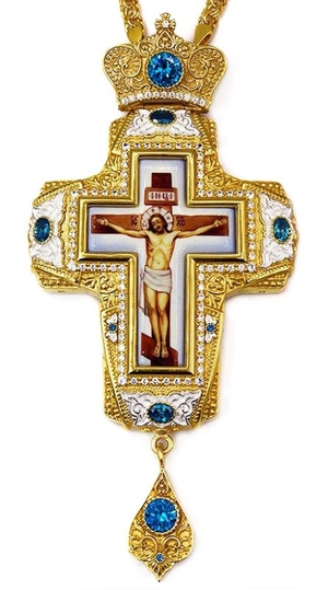 Pectoral cross with adornment - A331d