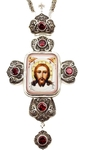 Pectoral cross with adornment - A340a