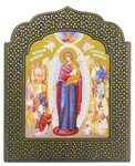Icon: The Most Holy Theotokos The Jow of All Who Sorrow - 10