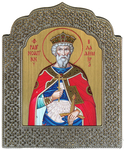 Icon: Holy Right-Believing Great Prince Vladimir Equal-to-the-Apostles