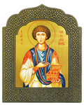 Icon: Holy Great Martyr and Healer Pantheleimon - 6