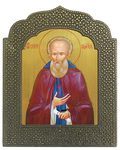 Icon: Holy Venerable Sergius of Radonezh the Wonderworker