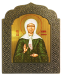 Icon: Blessed Matrona of Moscow - 13