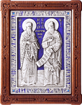 Icon - Holy Venerable Cyril and Methodius Equal-to-the-Apostles - A104-3