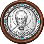 Icon - St. Nicholas the Wonderworker - A123-2