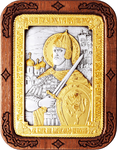 Religious icons: Holy Right-believing Great Prince Alexander of Neva - A126-6