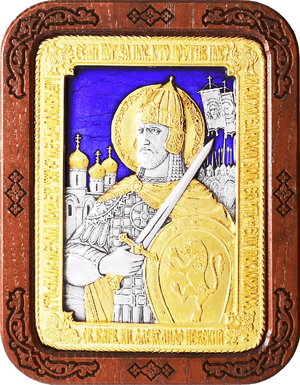 Religious icons: Holy Right-believing Great Prince Alexander of Neva - A126-7