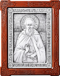 Icon - Holy Venerable Sergius of Radonezh - A48-1