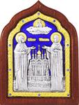 Icon - Holy Venerable Princes Peter and Thebroniya - A67-7
