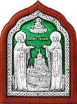 Icon - Holy Venerable Cyril and Mary - A81-3