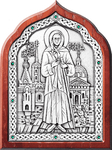 Icon - Holy Blessed Xenia of St.-Petersburg - A90-2