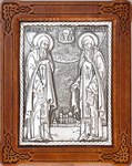 Icon - Holy Venerable Herman and Sergius of Balaam - A96-1