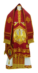 Bishop vestments - Transfiguration red
