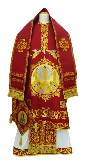 Bishop vestments - Transfiguration red