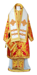 Bishop vestments - metallic brocade BG5 (red-gold)