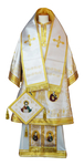 Bishop vestments - Apostle's Tree (white)