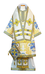 Bishop vestments - metallic brocade BG5 (white-gold)