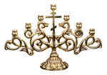 Small table seven-branch candelabrum - 1