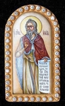 Religious icons: Applique icon - St. Iliya
