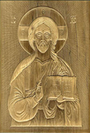Religious icons: Carved Jesus Christ