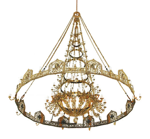 Church chandelier (horos) - Smolensk (108 lights)