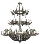 Three-level church chandelier - 11 (40 lights)