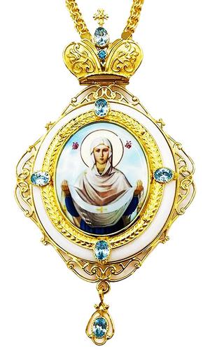 Bishop pectoral panagia - A1260-1