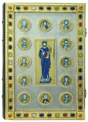 Orthodox service Gospel book in jewelry cover no.101