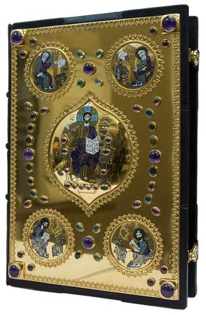 Orthodox service Gospel book in jewelry cover no.98