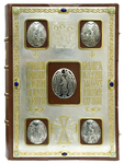 Orthodox service Gospel book in jewelry cover no.94