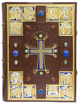 Orthodox service Gospel book in jewelry cover no.91